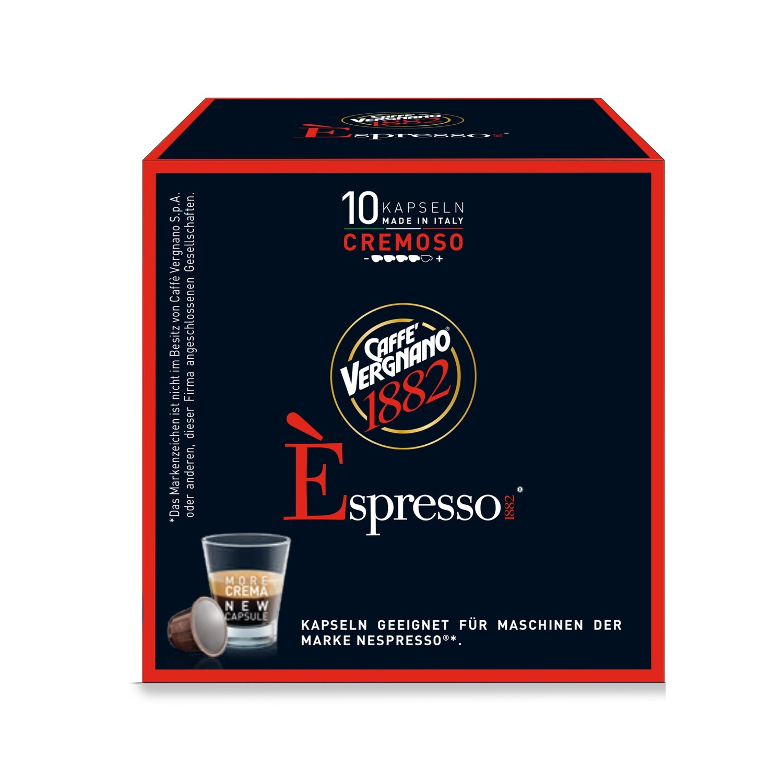 E'spresso Cremoso Nespresso kompatibilis kávékapszula 10 db