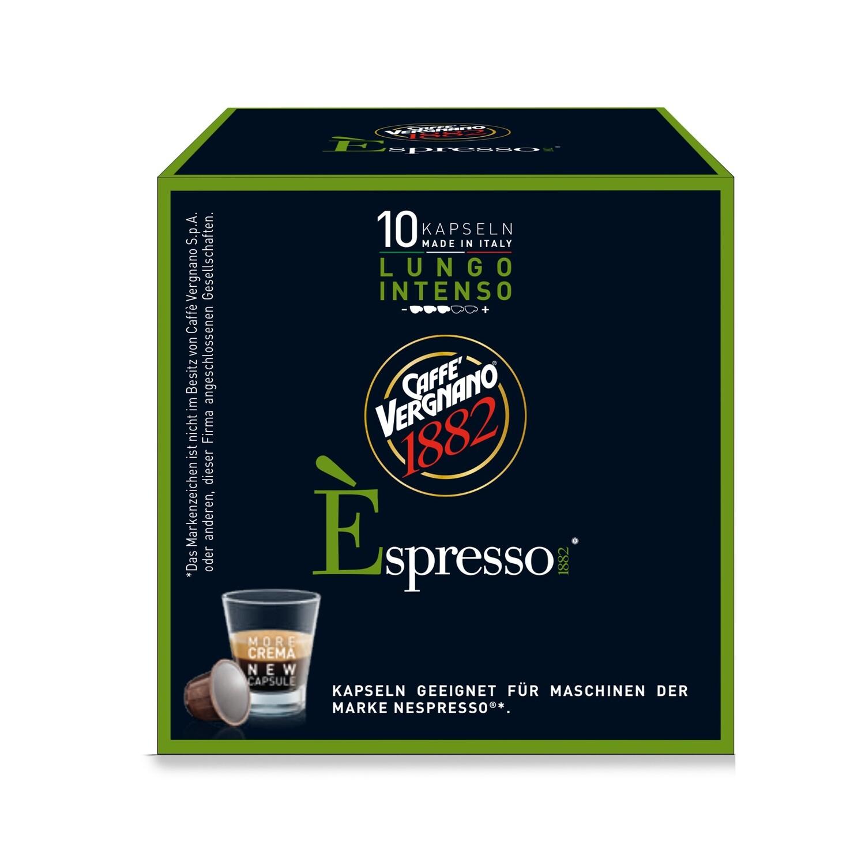 E'spresso Intenso Lungo Nespresso kompatibilis kávékapszula 10 db