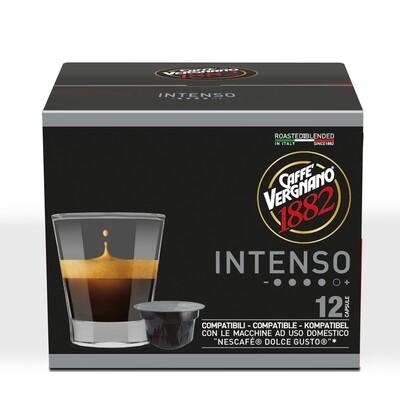 Caffè Vergnano Intenso  Dolce Gusto®*/NESCAFE®* kompatibilis kávékapszula 90 g