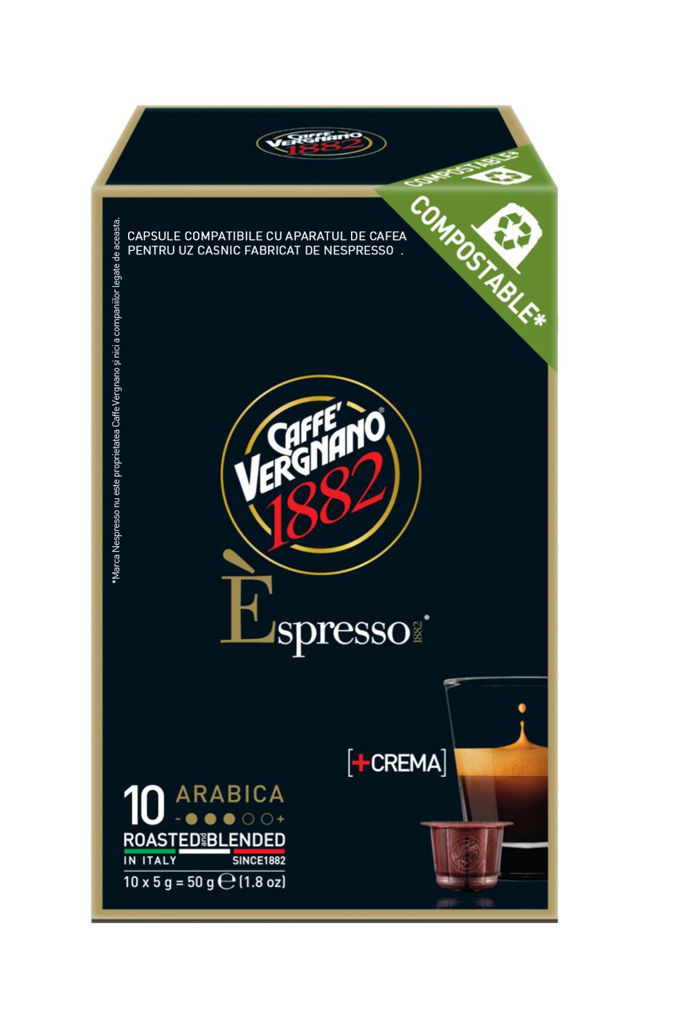 E'spresso Arabica Nespresso kompatibilis komposztálható kávékapszula 10 db