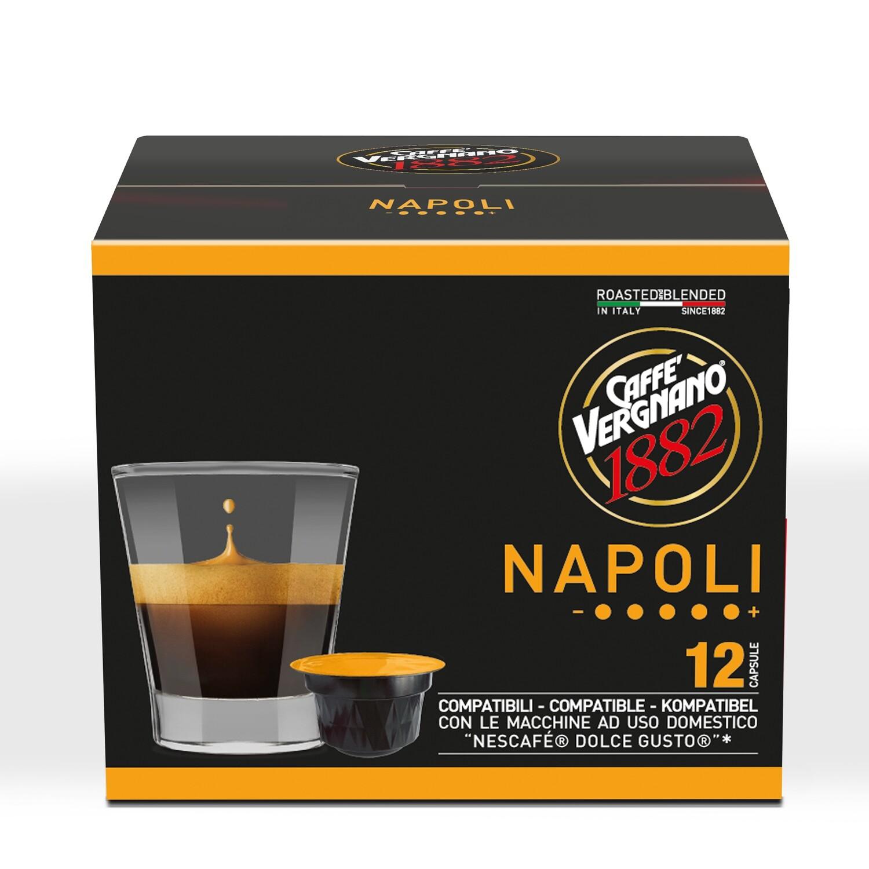 Caffè Vergnano Napoli Dolce Gusto®*/NESCAFE®* kompatibilis kávékapszula 90 g