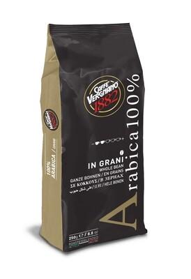 Vergnano Caffe 100% Arabica Coffee Beans szemes kávé 250g