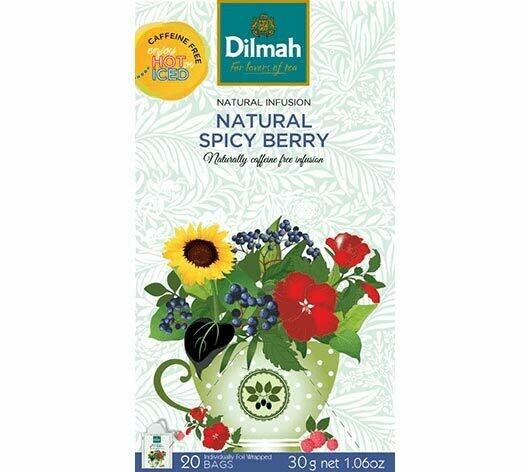 Dilmah Spicy Berry fűszeres gyümölcstea 20x1,5g