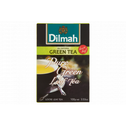 Dilmah natúr zöld szálas tea aromazáró dobozban 100g