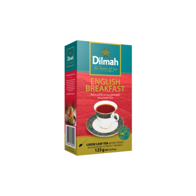 Dilmah English Breakfast szálas fekete tea 125g