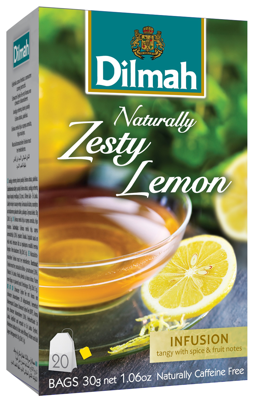 Dilmah Zesty Lemon zamatos citromos főzet 20x1,5g