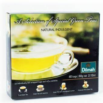 Dilmah Gift of Green Gift Pack 40 filteres zöldtea 60g