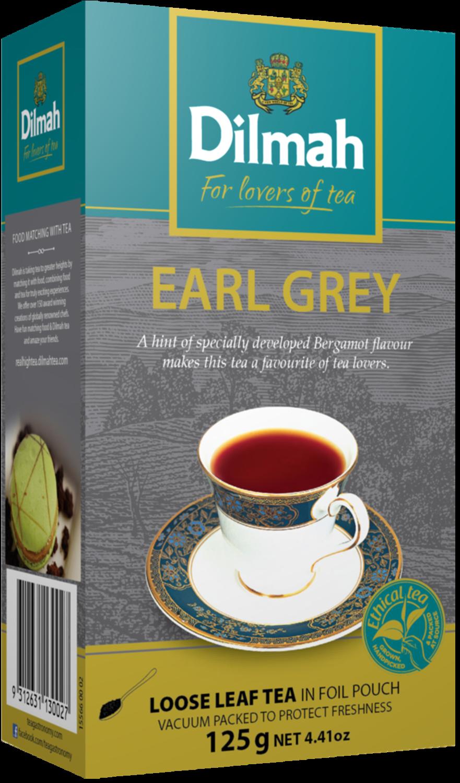 Dilmah Earl Grey szálas fekete tea 125g
