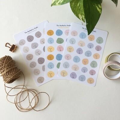 emotions Sticker Sheet