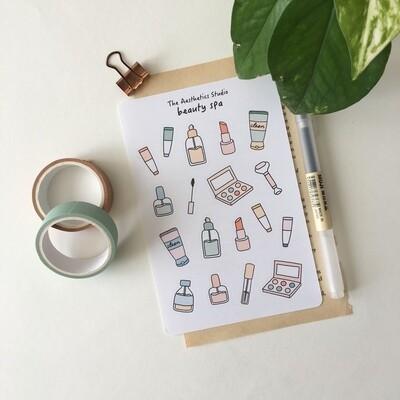 beauty spa Sticker Sheet