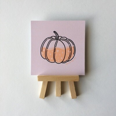 pumpkin juice Art Print