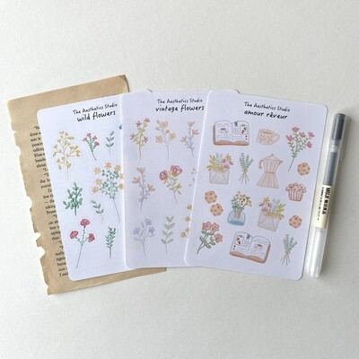 dreamy collection Sticker Sheet