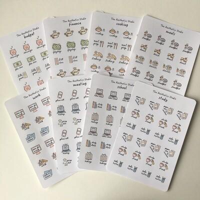 planner sticker collection 1
