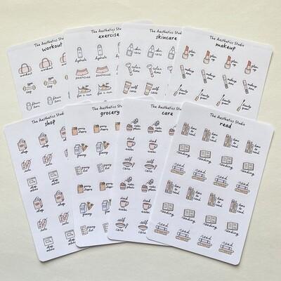 planner sticker collection 3