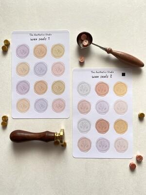 wax seals Sticker Sheet
