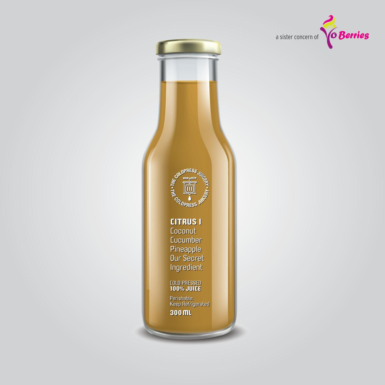 CITRUS I (Coconut Cucumber Pineapple Juice)
