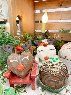 Reindeer Hot Chocolate Bombs