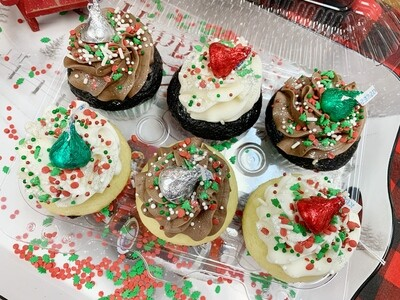 NCPL Christmas 6-pack Cupcake Fundraiser
