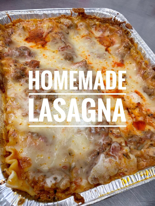 Weekly Dinner - Lasagna & Caesar Salad