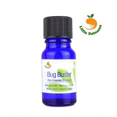 Bug Busting Essential Oil Blend 10ml (great for oil burners/diffusers)