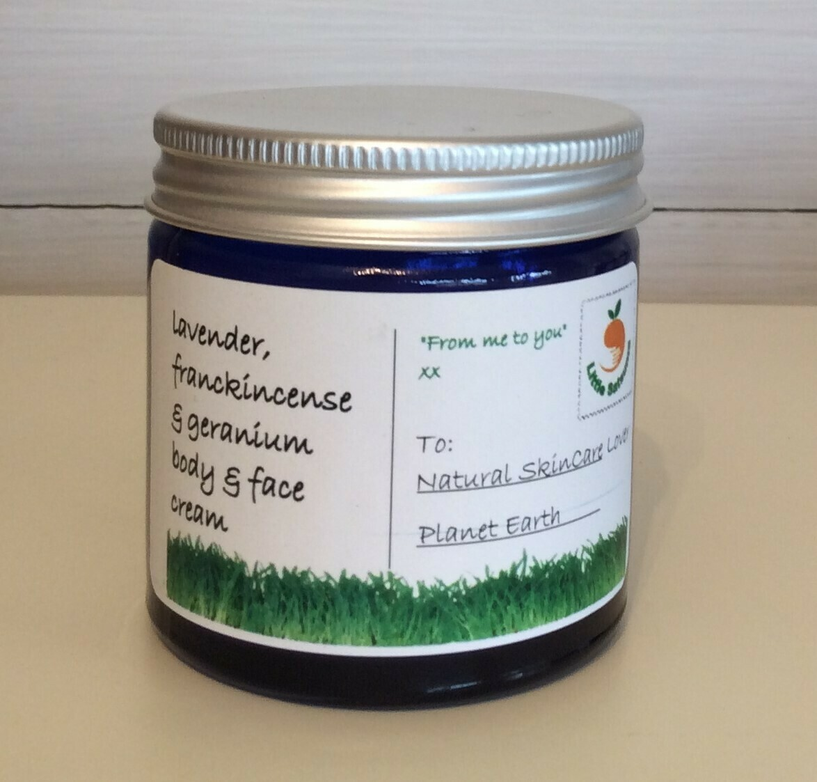 Lavender, Geranium & Frankincense Moisturiser by Little Satsuma (60ml)
