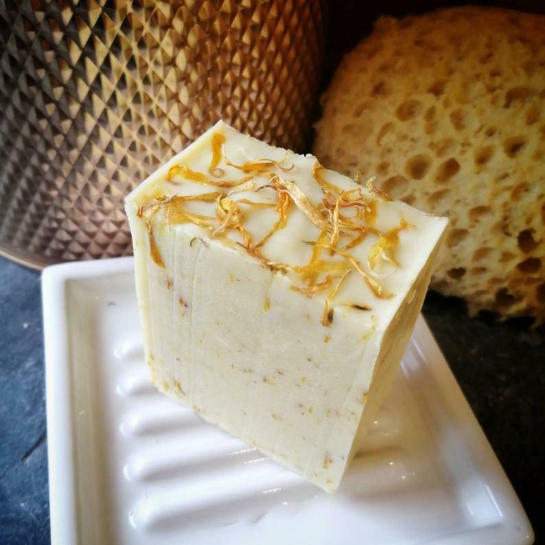 Gardener's Citronella & Eucalyptus Soap Bar by TinShedSoap  (Vegan)