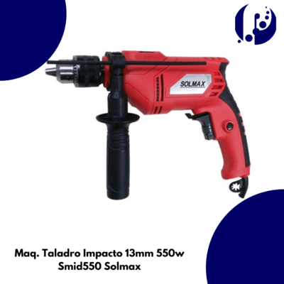Maq. Taladro Impacto 13mm 750w Smid750 Solmax