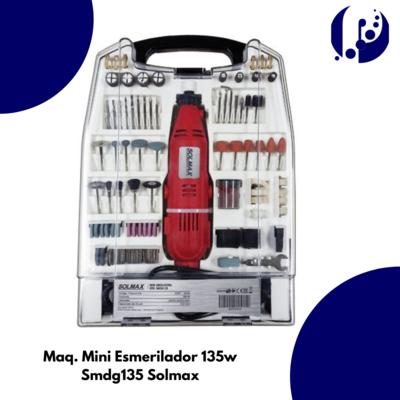 Maq. Mini Esmerilador 135w Smdg135 Solmax