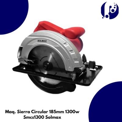 Maq. Sierra Circular 185mm 1300w Smcs1300 Solmax