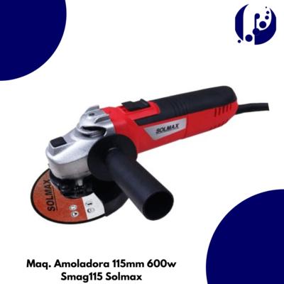 Maq. Amoladora 115mm 600w Smag115 Solmax