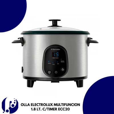 OLLA ELECTROLUX MULTIFUNCION 1.8 LT. C/TIMER ECC20