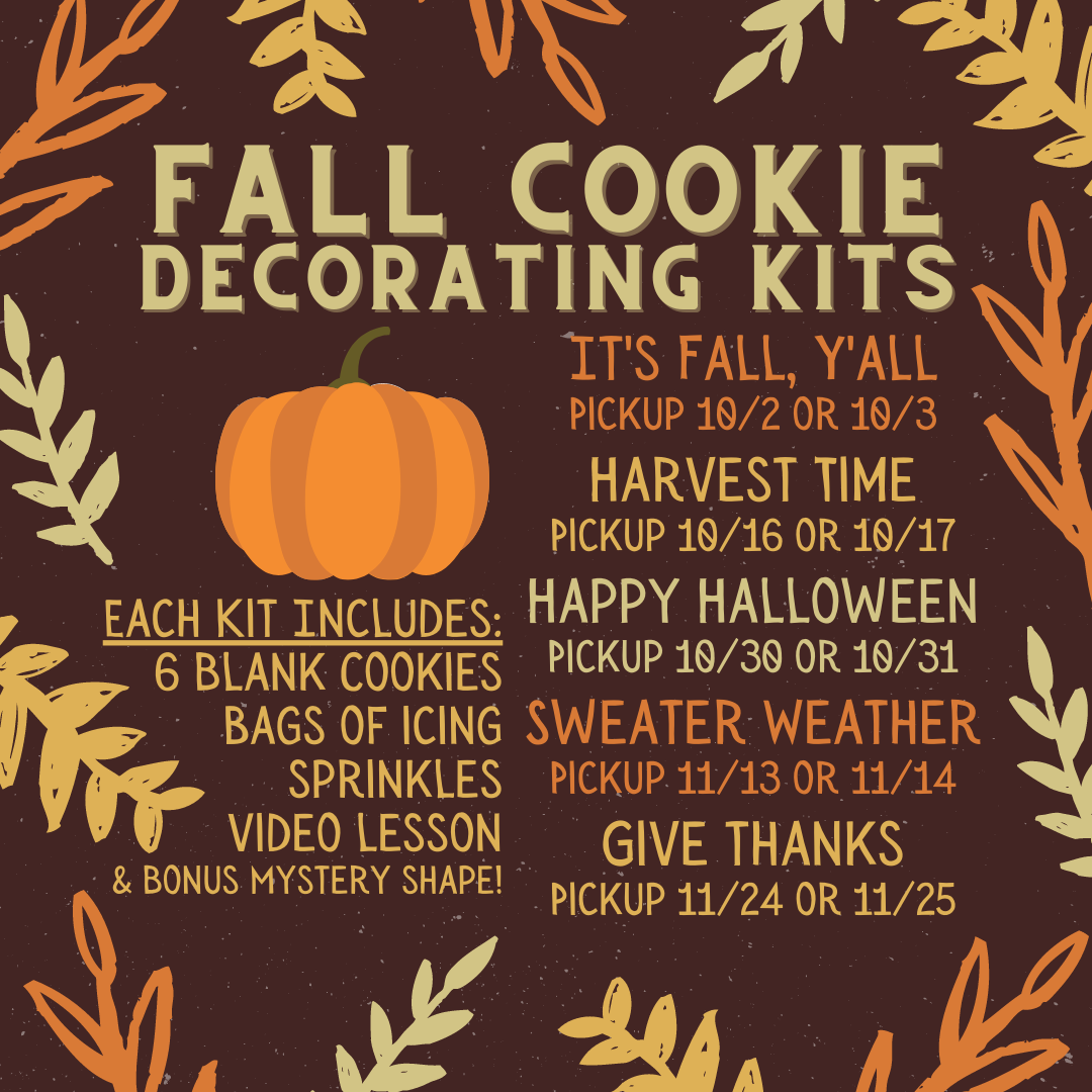Cookie Decorating Kits: Fall Subscription