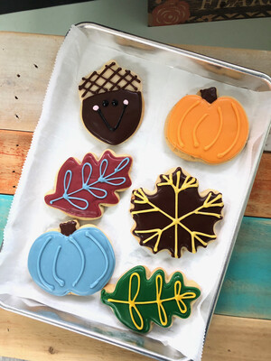 Decorated Cookies - By Half Dozens