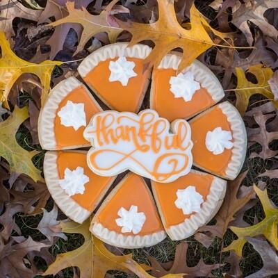 Pumpkin Pie Cookie Set- Thanksgiving Special