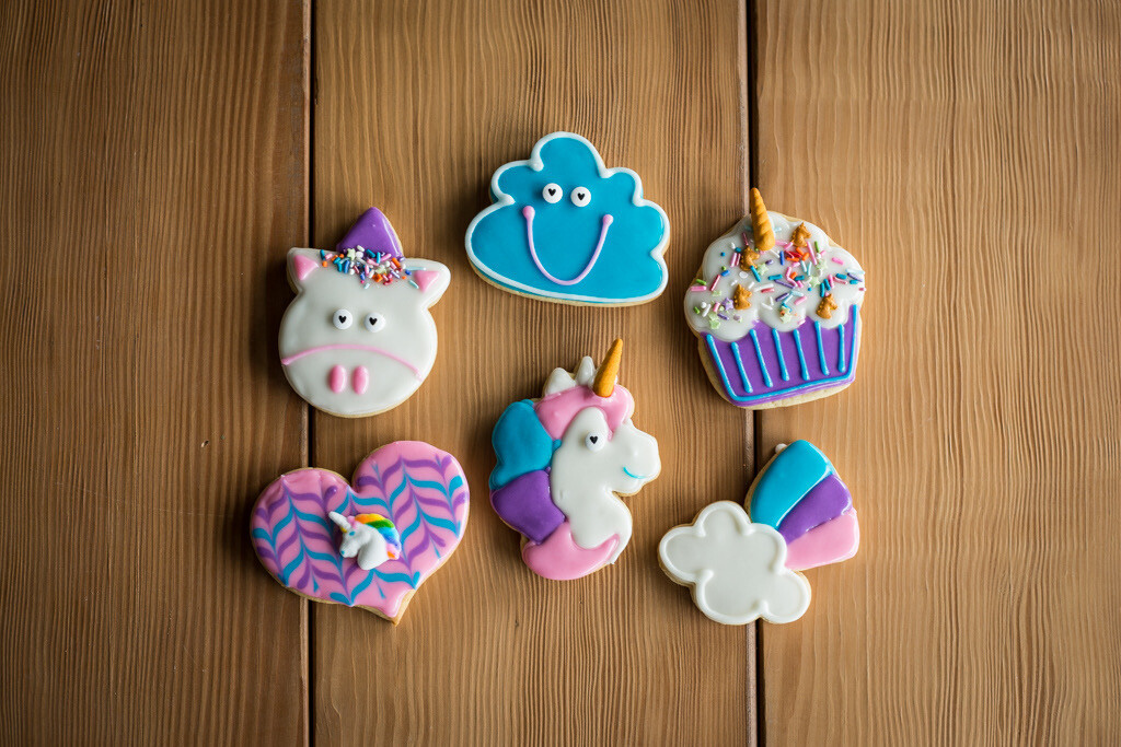 Unicorn Cookie Decorating Kit