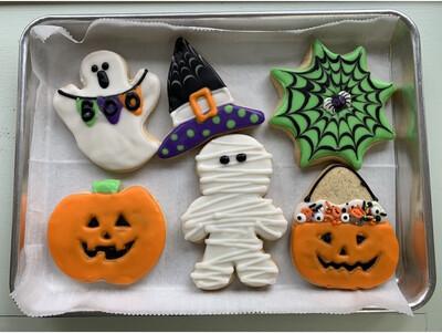 Halloween Cookie DIY Kit