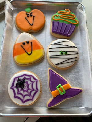 Decorated Cookies - by the half dozen