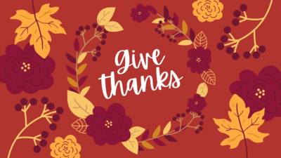 """Ladies Night Class- """"Give Thanks"""" Thursday, November 18th (6:30-8:30 PM)"""