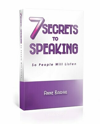 7 Secrets to Speaking So People Will Listen {PAPER VERSION}