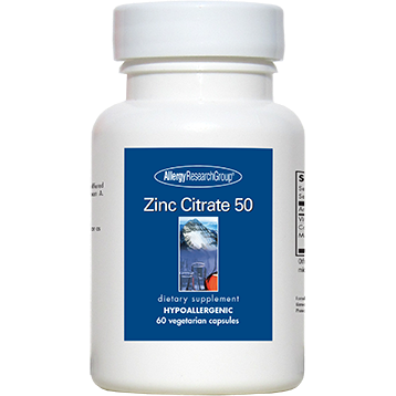 Zinc Citrate 50mg Capsules
