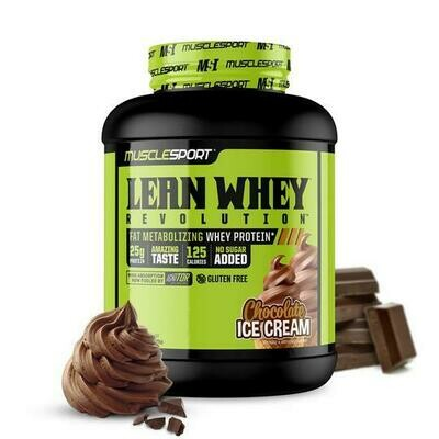 Muscle Sport Lean Whey 5lb Chocolate