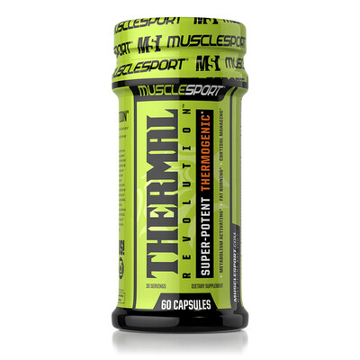 Muscle Sport Thermal Revolution Fatburner