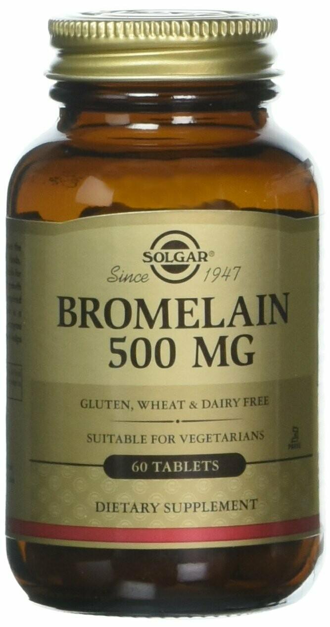 Solgar Bromelain 500 MG 60tablets