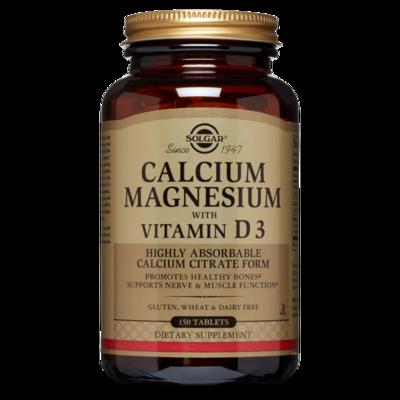 Solgar Calcium Magnesium w/ Vitamin D3 150tab