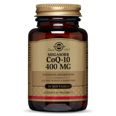 Solgar CoQ10 400mg 30 softgels