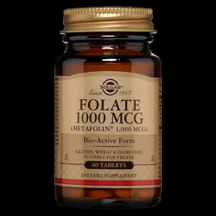 Solgar Folate 1000MCG 60 tablet