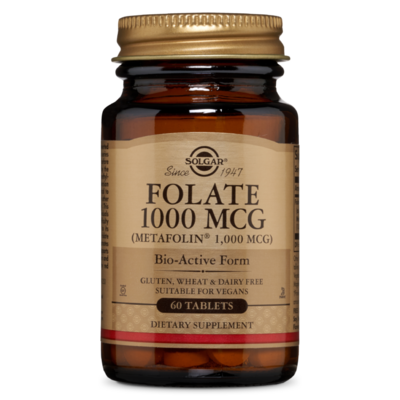 Solgar Folate 1000MCG 60 tablet