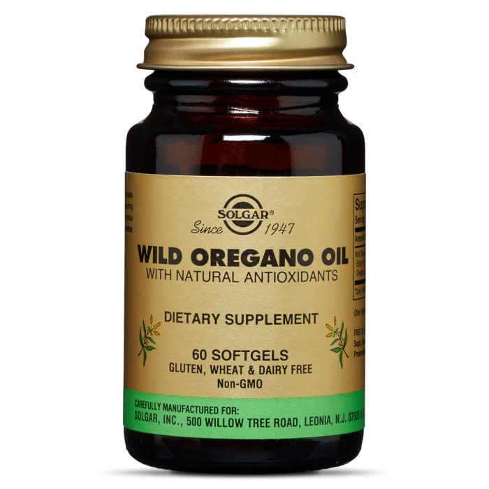 Solgar Wild Oregano Oil 60 Softgels