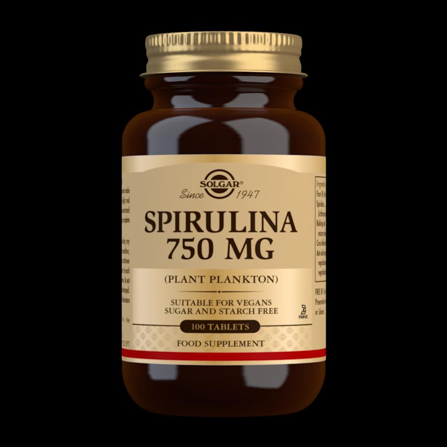 Solgar Spirulina 100 tablets