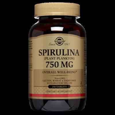 Solgar Spirulina 250 tablets